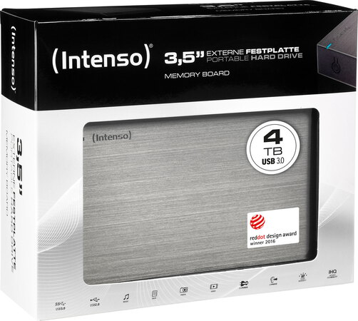 Intenso Memory Board USB 3.0 - 4 To