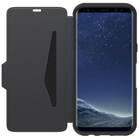 Otterbox Strada Bookcover pour Galaxy S8+ - Noir