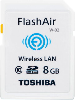 Toshiba FlashAir W-02 Wi-Fi - 8 GB