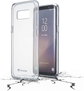 Cellular Line Clear Duo voor Galaxy S8