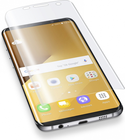 Cellular Line Ok Display Invisible Curved voor Galaxy S8+