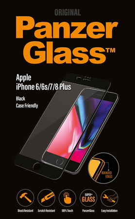 Panzerglass Black Case Friendly pour iPhone 6/7/8 - PZ2619P