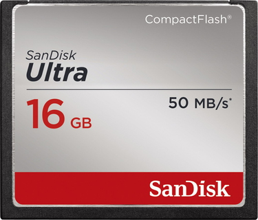 Sandisk Ultra® CompactFlash® - 16 GB
