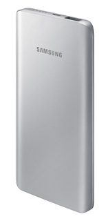 Samsung External Battery Pack - 5.200 mAh - Zilver