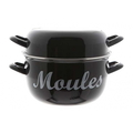 Cosy&Trendy Casserole à moules avec inscription - Ø24 cm - 4 kg