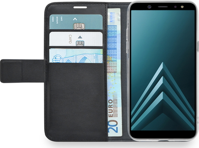 Azuri Walletcover pour Galaxy A6 (2018)