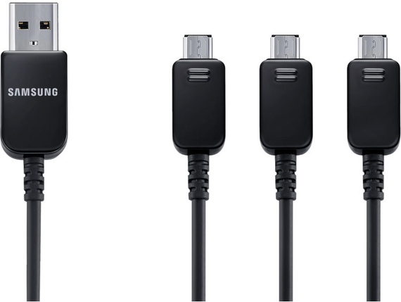Samsung 3-in-1 micro USB-kabel