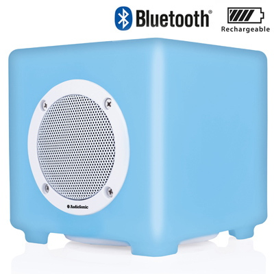 Audiosonic SK-1537 Bluetooth Speaker - Wit met LED lights