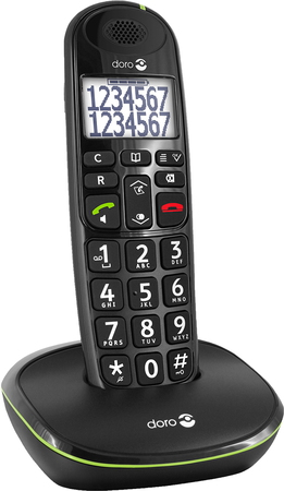Doro PhoneEasy® 110 duo - Noir