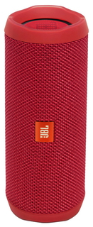 JBL Flip 4 Mono Speaker Bluetooth - Rouge