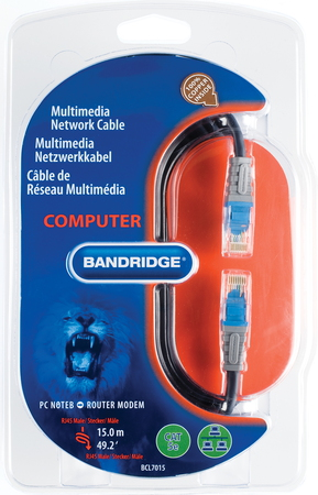 Bandridge Multimedia netwerkkabel - BCL7015