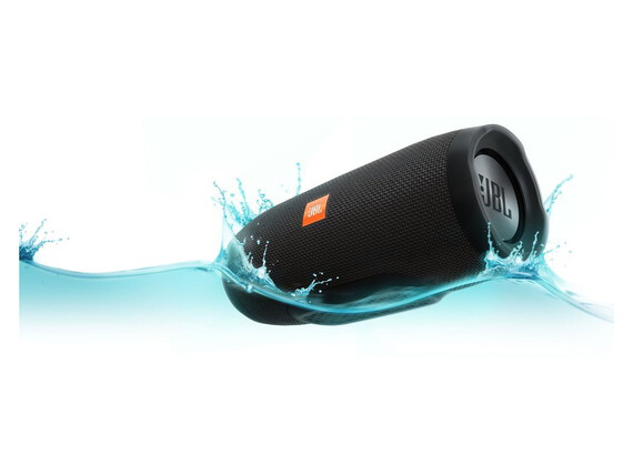 JBL Charge 3 Stereo Bluetooth Speaker - Zwart
