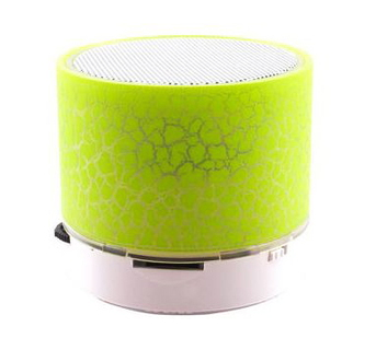 Mobii ROCK NEON Mini LED Enceinte Bluetooth - Vert