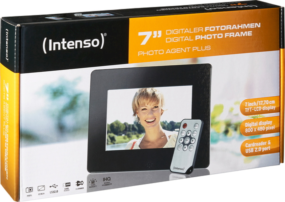 "Intenso 7"" Photo Agent Plus"