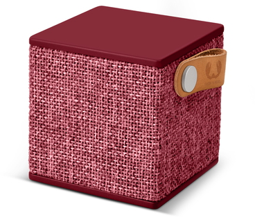 Fresh 'n Rebel Rockbox Cube Bluetooth Speaker - Ruby
