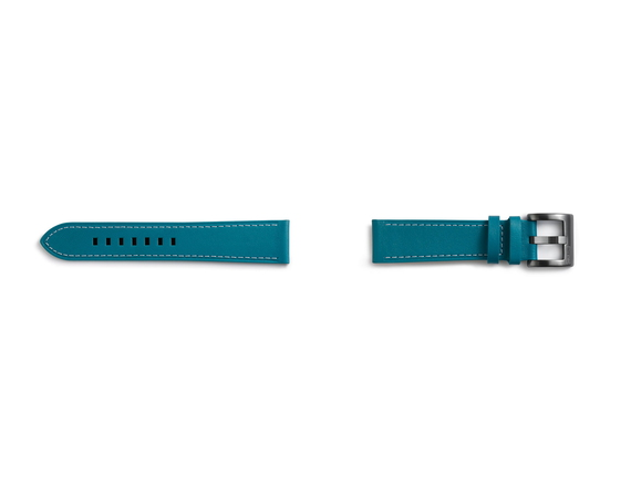 Samsung Classic Leather Watch strap Cuir Bleu