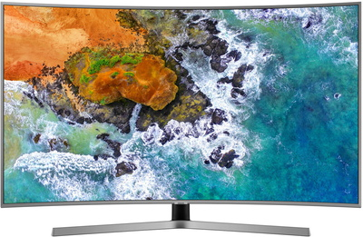 "Samsung TV UE55NU7640 (2018) - 55"" UHD Curved Smart 4K UHD TV"