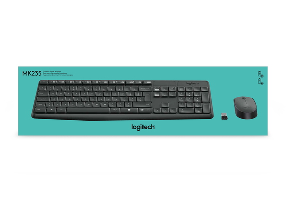 Logitech MK235 AZERTY WIRELESS COMBO
