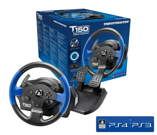 Thrustmaster Thrustmaster T150 RS Racing Wheel Force Feedback