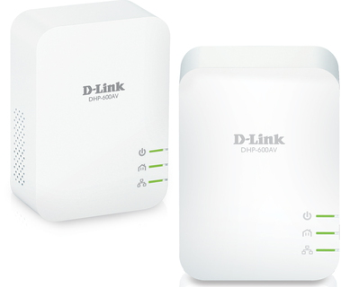 D-Link PowerLine AV2 1000 Gigabit Starter Kit - DHP-601AV/E