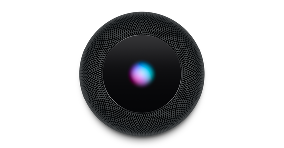 Apple Homepod - Smart speaker met Siri - Zwart / Space Grey (FR/ENG/DU)