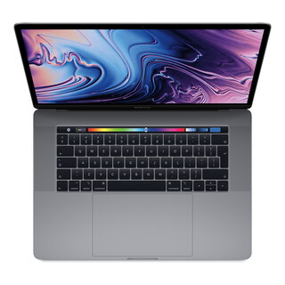 "MacBook Pro (2018) 15,4"" Touchbar 256 GB Spacegrijs"