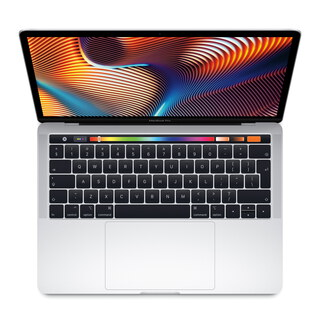 "MacBook Pro (2018) 13,3"" Touchbar 512 GB Zilver"