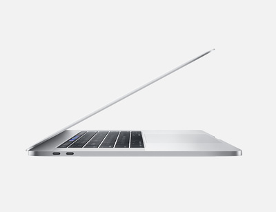 "Apple MacBook Pro (2018) 15,4"" Touchbar 256 Go Silver"