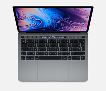 "Apple MacBook Pro (2018) 13,3"" Touchbar 512 Go Gris Sidéral"