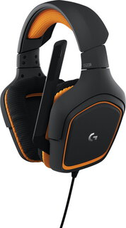 Logitech G231 Prodigy Gaming Casque - Noir, Orange
