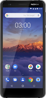 Nokia Nokia 3.1 Black Chrome