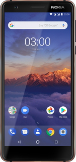 Nokia Nokia 3.1 Tempered Blue
