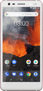 Nokia Nokia 3.1 White Iron