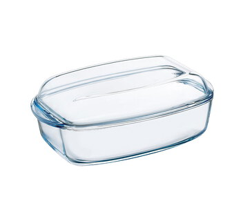 Pyrex Plat à four rectangulaire - 4,6 L