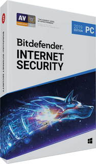 Bitdefender Internet Security 2019 - 1 an - 1 appareil
