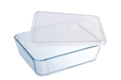 Pyrex Set plats à four Cook & Freeze - 1,5L & 2,6L - Blanc