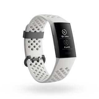 Fitbit Charge 3 Special Edition Graphite/White (S/L)