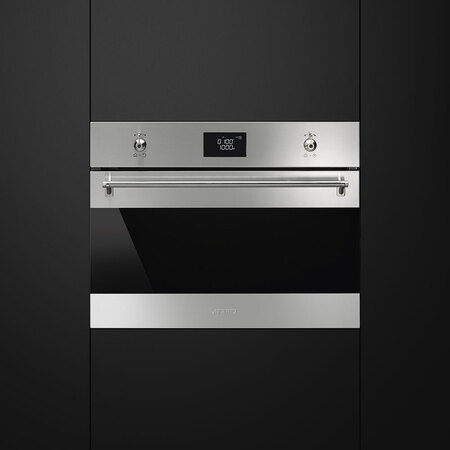 Smeg Micro-ondes encastrable SF4390MX