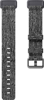 Fitbit Charge 3 Polsband Woven Charcoal (L)