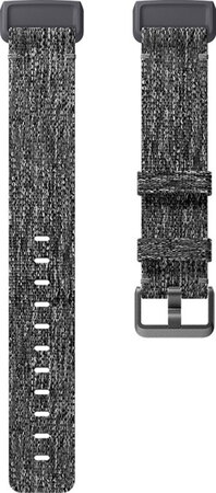Fitbit Charge 3 Bracelet Woven Charcoal (L)