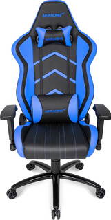 Ak Racing K6014 Player Gaming Chair Zwart-Blauw