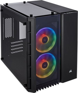 Corsair Crystal Series™ 280X RGB Zwart - CC-9011135-WW