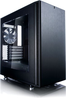 Fractal Design Define Mini C - Window Zwart - CA-DEF-MINI-C-BK-W