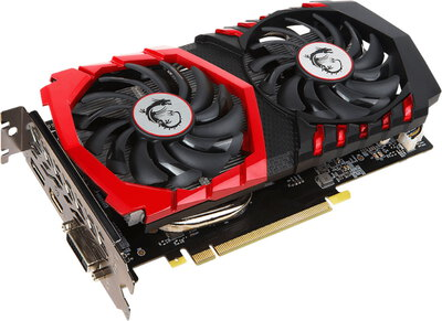 MSI GeForce GTX 1050 Ti Gaming X - 4 Go GDDR5