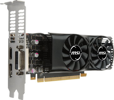 MSI GeForce GTX 1050 Ti LP - 4 GB GDDR5