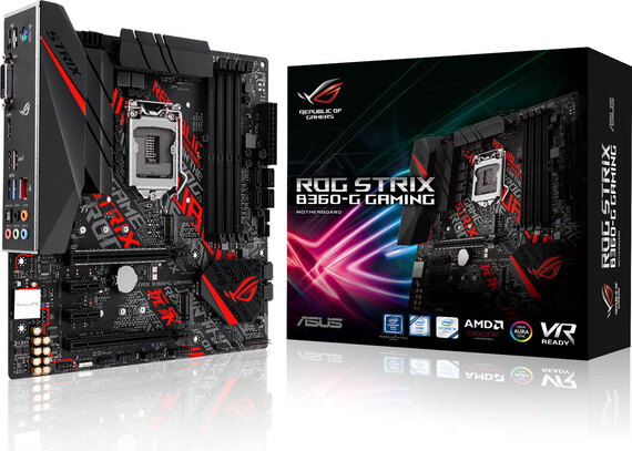 Asus ROG Strix B360-G Gaming - Intel 1151 - 90MB0WD0-M0EAY0
