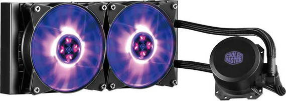 Coolermaster MasterLiquid ML240L RGB - MLW-D24M-A20PC-R1
