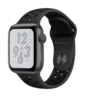 Apple Watch Nike+ Series 4 40mm Space Grey/Zwart (S/L)