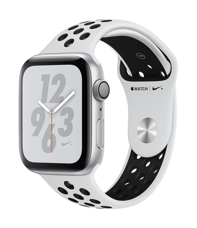 Apple Watch Nike + Series 4 44mm Argent/Blanc (S/L)