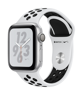 Apple Watch Nike+ Series 4 40mm Zilver/Wit (S/L)